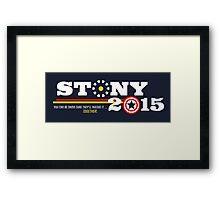 Stony 2015 Framed Print