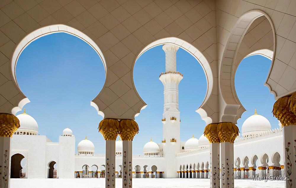 Sheik Zayed Mosque  by Mary Grekos