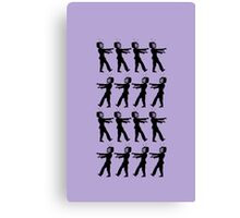 March of the Zombie TV Guys by Chillee Wilson Canvas Print