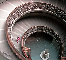The Vatican Staircase by Jaime Martorano