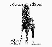 American Pharoah Stretch Sketch Unisex T-Shirt