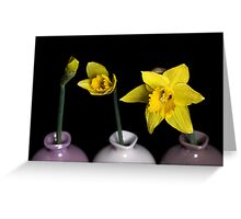 From Bud To Bloom Greeting Card