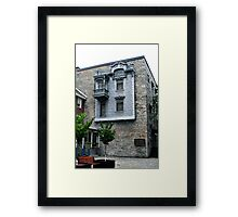 The Tin House Framed Print