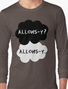 allons-y? allons-y. Long Sleeve T-Shirt