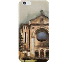 Painted Basilica 2 iPhone Case/Skin