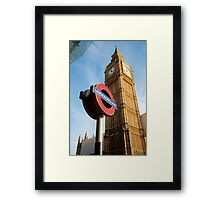 Signs of London: UK Framed Print