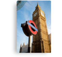 Signs of London: UK Canvas Print