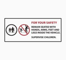For Your Safety - No Dancing Warning  One Piece - Short Sleeve