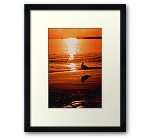 Babaji - oh how you comfort me Framed Print