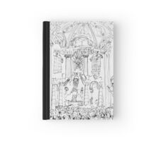 Italy-Rome - St. Peters Interior view Hardcover Journal