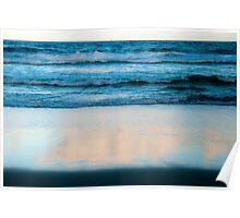 Layered Ocean Poster