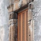 window with balcony by Deb Gibbons