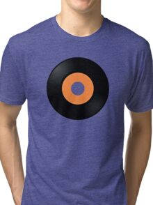 Vinyl Record [2] by Chillee Wilson Tri-blend T-Shirt