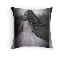 Lovely Catherine - dancing in the sun Throw Pillow