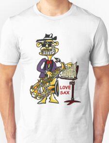 LOVE SAX Unisex T-Shirt