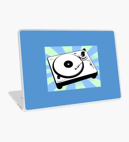 Retro Record Player by Chillee Wilson Laptop Skin
