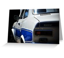 RS2000 Ford Escort Greeting Card