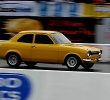 classic yellow - quarter mile by Perggals© - Stacey Turner