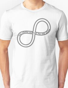 some infinities are bigger than other infinities - black Unisex T-Shirt