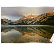 Bow Lake Sunrise  Poster