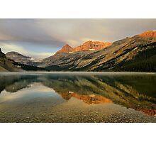 Bow Lake Sunrise  Photographic Print
