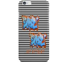 Graffit Tees 2... SAME SAME... iPhone Case/Skin