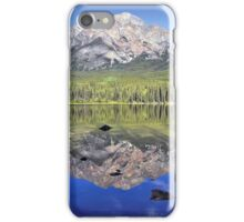 Pyramid Mountain Reflection iPhone Case/Skin