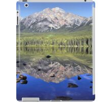Pyramid Mountain Reflection iPad Case/Skin