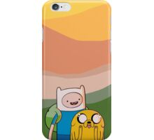 Adventure Time Sunset iPhone Case/Skin