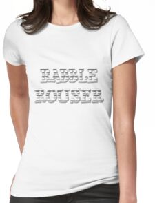RABBLE ROUSER by Chillee Wilson Womens Fitted T-Shirt