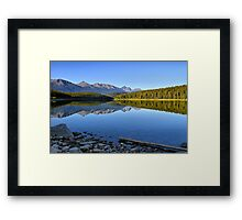 Patricia Lake, Jasper National Park Framed Print