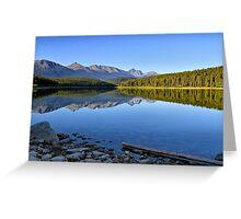 Patricia Lake, Jasper National Park Greeting Card