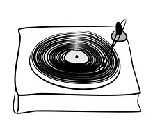 Retro Record Player by Chillee Wilson by ChilleeWilson
