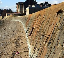 Sea wall 2 by Ian Mac
