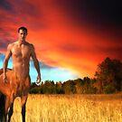 Twilight on Arcadia - The Golden Centaur by Graeme Hindmarsh