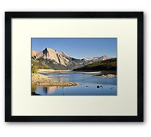 Medicine Lake  Framed Print
