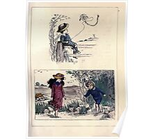 The Little Folks Painting book by George Weatherly and Kate Greenaway 0081 Poster