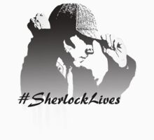 #SherlockLives Baby Tee