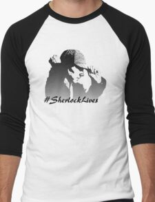 #SherlockLives Men's Baseball ¾ T-Shirt