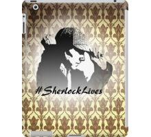 #SherlockLives iPad Case/Skin