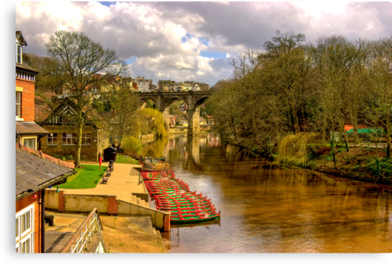Knaresborough Viaduct by Trevor Kersley