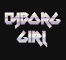 CYBORG GIRL by Chillee Wilson Kids Tee
