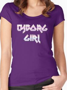 CYBORG GIRL by Chillee Wilson Women's Fitted Scoop T-Shirt