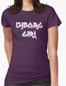 CYBORG GIRL by Chillee Wilson Womens Fitted T-Shirt