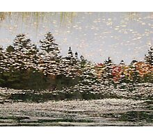 A Lakes Touch - Algonquin National Park Photographic Print