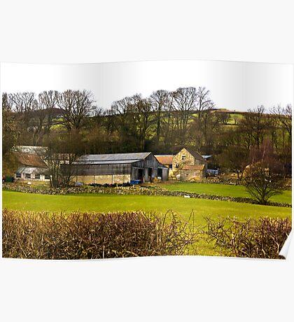 Yorks Moors Barn Poster