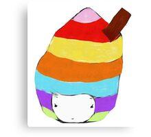 Icecream Hat Canvas Print