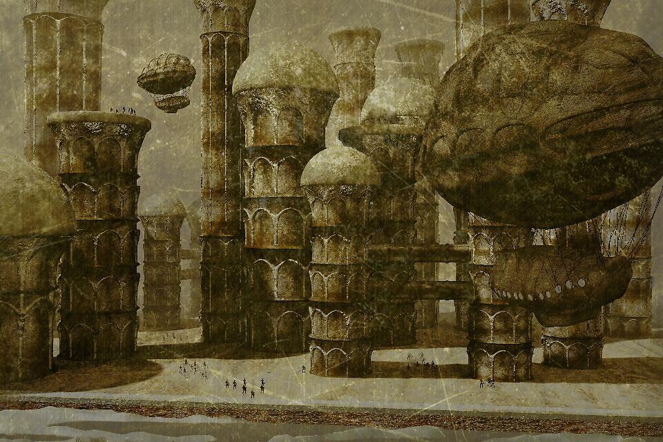 New Pisa City by Daniele Lunghini