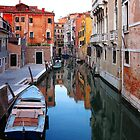 ITALY - The Canals of Venice by Brad Spencer