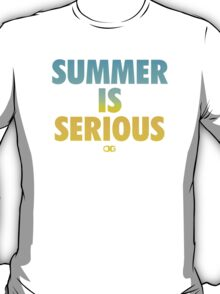 Summer IS Serious | Gradient T-Shirt